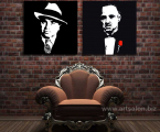 Al-Capone_Don-Corleone-poster-art-size-60x60-sm