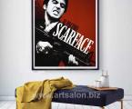 Poster-Scarface-Tony-Montana