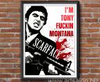 Poster-frame-Tony-Montana