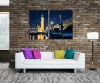London-night-Diptih (цена зависит от размеров, укажите примерную ширину всей картины)