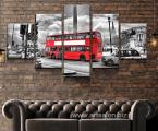 Modular-picture-Double_Decker-London-red-bus Размер 100х200 см 40 у.е. (Предзаказ, можно оплатить картой)