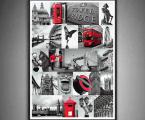 Photo-collage-London-60x40-sm Картины фото и постеры можно оформить в рамки из натурального дерева, тонкие хай тек, строгие прямые или фигурный широкий багет, цвета и размеры любые. Можно сделать печать на холсте или планшете (планшет- это вид легкой гладкой мебельной плиты, толщина 18 мм. это модный Европейский стиль) После печати все работы покрываются защитным лаком (картина без лака со временем выцветает и тускнеет, лак защищает от воздействия солнца и ультрафиолета) Наши работы нельзя порвать, проткнуть, они не боятся влаги и не такие опасные как картины на стекле (стекло тонкое, тяжелое, имеет дешевый вид, сильно блестит, дает отражения как в зеркале, там видны только блики, тени, отражение люстры, детали на картине плохо видны, а только дешевый блеск и надо помнить, что стекло это хрупкий и опасный материал!) Любые картины можно украсить стразами (красивый эффект капли воды на цветах или звезды на ночном небе) Вы так же можете заказать картины красками ручной работы. Наши работы - это гарантия качества на долгие годы! Цена зависит от размеров, пишите нам artpost@bk.ru Telegram, WhatsApp (99890) 975-10-05