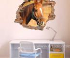 3D Наклейка на стену, размер 60х90 см. Плотная бумага, покрытие защитный лак, клеится на стену на 2 сторонний скотч. цена 5 у.е.