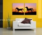 Horse 2m 60x60 sm. Размеры квадратных модулей могут быть любые, от 20х20 см до 60х60 см. цена зависит от размеров