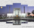 Ташкент.-Мечеть-Минор-размер-80х130-см