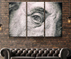 Modular picture Benjamin Franklin