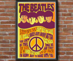 Abstract-poster-Beatles-any-size