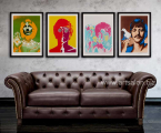 The Beatles-poster-frame-art-decor