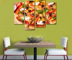 4-Pieces-Delicious-Pizza-Paintings-Food-Picture-Print-on-Canvas-Wall-Art-Paintings-For-Restaurant-Decoration