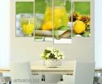 Water in lemon_ size_100x150_cm 40 у.е.