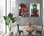 2_Poster_Picasso Размеры о А-4 до 60х100 см В рамке или планшет без рамки, цена зависит от размеров, заказ 2-5 дней