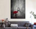 Cherno-belaya-kartina-Paris. Картины фото и постеры можно оформить в рамки из натурального дерева, тонкие хай тек, строгие прямые или фигурный багет, цвета любые. Можно сделать печать на холсте (холст натягивается на подрамник и вставляется в рамку, второй вариант, холст натягивается на подрамик, края холста загибаются и так картина вешается на стену, третий вариант планшет- это вид легкой мебельной плиты, толщина 20 мм. Фото на плотной бумаге клеится на планшет. После печати все работы покрываются защитным лаком (картина без лака со временем выцветает и тускнеет, лак защищает от воздействия яркого света и ультрафиолета) Любые картины можно украсить стразами (красивый эффект капли воды на цветах или звезды на ночном небе) Вы так же можете заказать картины красками ручной работы. Наши работы выглядят красиво и солидно, они не такие опасные как картины на стекле (стекло тонкое, всего 3 мм оно тяжелое, имеет дешевый вид, сильно блестит, дает отражения как в зеркале, там видны сильные блики, тени, отражение света, детали на картине плохо видны и надо помнить, что стекло это хрупкий и опасный материал!) пишите нам artpost@bk.ru Telegram, WhatsApp (99890) 975-10-05