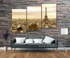 Modular-picture-Paris-3-paneli