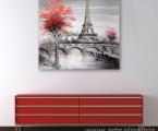Paris-modern-art-painting-print-canvas-60x60-sm