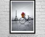 Paris_Wall_Art_Frame_size_65x85_cm