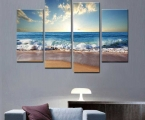 Gorgeous-beach-canvas-wall-art-living-room-art-piece-living-room-beach-wall-art
