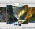 Vodopad_Les