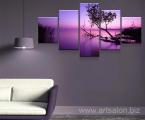 Balaton_sunset_Modular-picture-2
