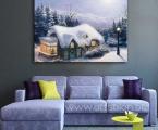 Winter-landscape,-size-60x90-cm.