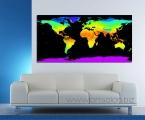 Decor Map3. Карта, размер 60х120 см. Можно сделать в виде планшете без рамки. или оформить в рамку из натурального дерева любого цвета. Цена 25 у.е.
