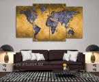 Karta-mira-modern-art-wall-decor-100x170-sm