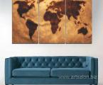 World-map-art-wall-decor