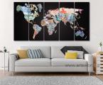 World-map-pop-art-100x190-sm