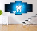 Modulnoe-panno-zub-klinika-stomatologii