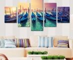 Gondola 01 Модульная картина из 5 частей 97х160 см. цена 40 у.е. Суперкачество!