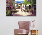 Italy-Painting-print-canvas Размеры от А-4 до 60х90-см