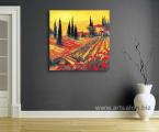 Italy Tuscany-art-print-canvas-60x60-sm