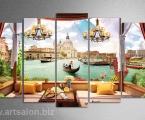 Venice panoram 01. Размер 100х170 см. цена 40 у.е.