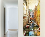 Vertical panel, Venice channel, size 60x120 cm