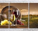 Modulnaya-kartina-vino
