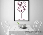 Poster_Wine_Frame_Pop_art