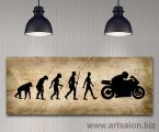 Эволюция-модерн-арт-декор