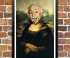 Einstein Mona Lisa