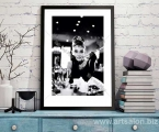 Poster-Audrey-Hepburn,-size-60x40-cm. цена 10 у.е.